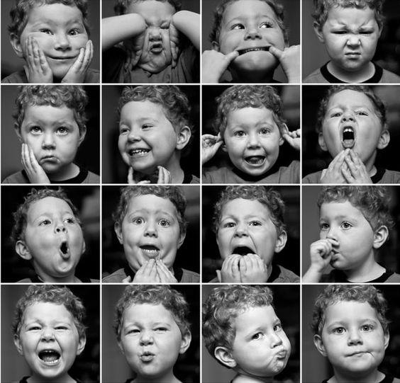 Expression visages
